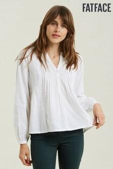 قميص لون طبيعي بتصيل مجمعPenny منFatFace