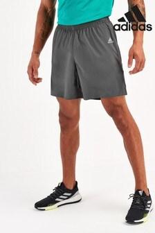 adidas Grey Own The Run Shorts