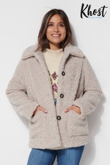 Khost Grey Teddy Borg Coat