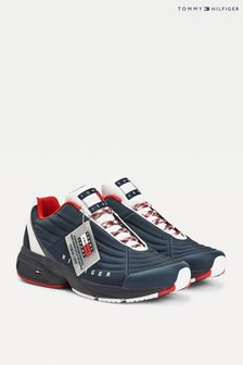 Tommy Hilfiger Blue Heritage Mix Trainers
