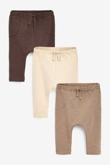 3 Pack Leggings (0mths-2yrs)