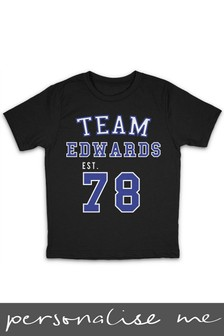 Personalised Family Team Printed T-Shirt