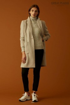 Great Plains Cream Mirabelle Coat