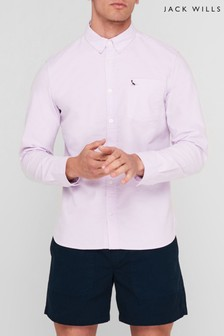 Jack Wills Lilac JW Wadsworth Oxford Shirt