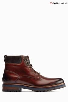 Base London® Brown Maidon Chunky Work Boots
