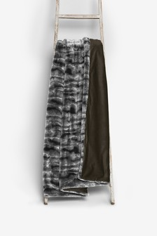 Tilda Faux Fur Throw