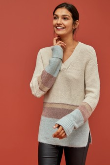 Colourblock Jumper