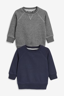 Crew Neck Tops Two Pack (3mths-7yrs)