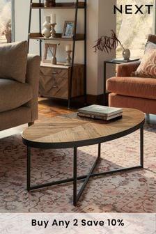 Bronx Chevron Coffee Table