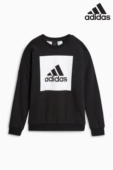 adidas Stack Logo Crew Sweater
