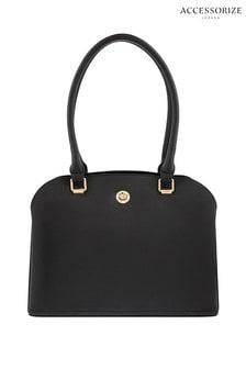 Accessorize Black Nina Handheld Bag