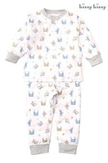 Kissy Kissy White Dragon Castle Pyjama Set