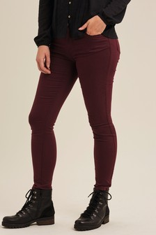 FatFace Purple Five Pocket Jeggings