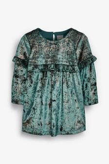 Glitter Velour Dress (3mths-7yrs)