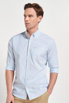 Stretch Oxford Stripe Long Sleeve Shirt
