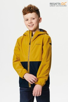 Regatta Yellow Akiro Water Repellent Jacket
