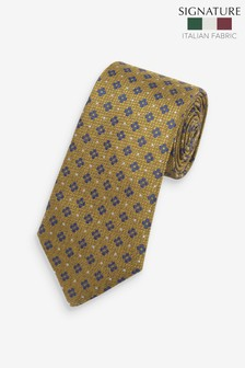 Signature 'Made In Italy' Geometric Tie