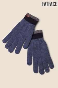 FatFace Blue Touchscreen Gloves