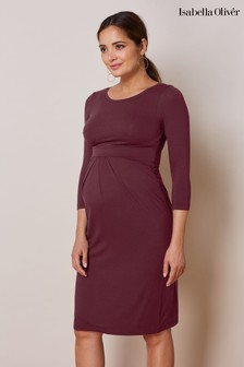 Isabella Oliver Purple Ivybridge Maternity Dress