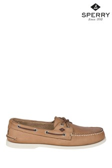 Sperry Cream Authentic Original Leather Boat Shoes
