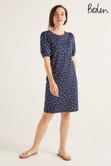 Boden Blue Zoe Jersey T-Shirt Dress