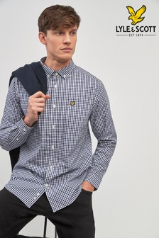 Lyle & Scott Gingham Langärmeliges Hemd