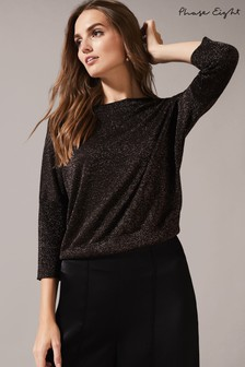 Phase Eight Allison Shimmer Fancy Back Knit Jumper