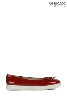 Geox Women's Genova Red Shoes