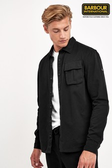 Barbour® International Black Contact Overshirt