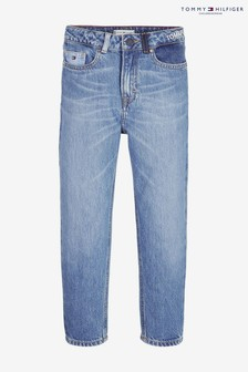 Tommy Hilfiger 2004 High Rise Tapered Repurposed Jeans