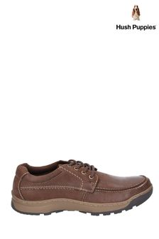 Hush Puppies Brown Tucker Lace Shoes