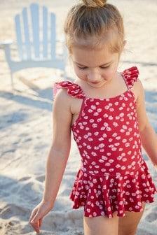 Frill Skirt Swimsuit (3mths-7yrs)