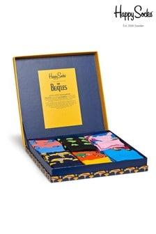 Happy Socks Beatles 6 Pack Gift Box