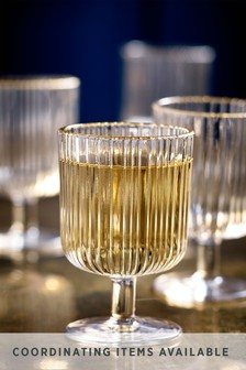 Set of 4 Malvern Set of 4 Wine Glasses