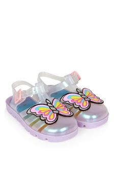 Sophia Webster Girls Multicoloured Unicorn Jelly Sandals