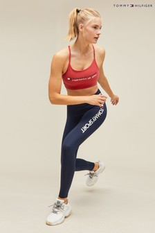 Tommy Sport High Waisted Logo Leggings