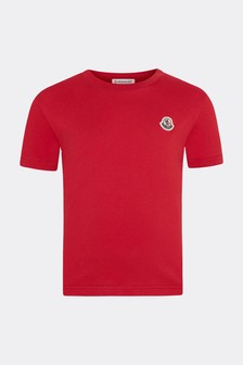 Moncler Enfant Boys Cotton T-Shirt