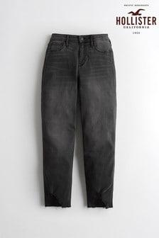 Hollister Mom-Jeans, Schwarz