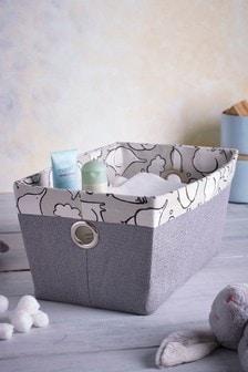 Elephant Print Basket