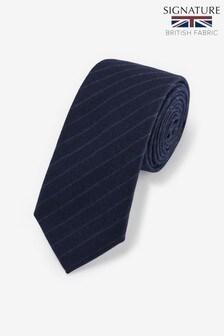 British Fabric Signature Tie