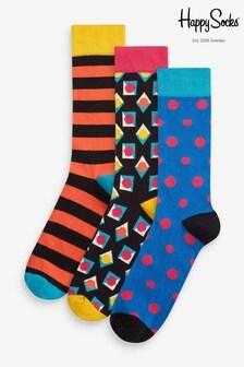Happy Socks Gift Box Three Pack