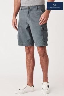 Crew Clothing Company Green Cargo Shorts