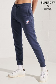 Superdry Blue Sportstyle Joggers