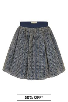ELIE SAAB Girls Blue Skirt