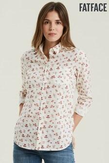 FatFace Natural Olivia Prairie Meadow Shirt