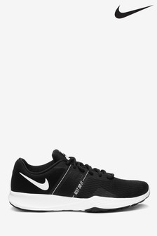 Nike Black/White City 2 Trainers