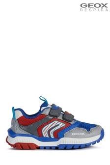 Geox Boy's Tuono Grey Shoes