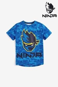Ninja Print T-Shirt (8-16yrs)