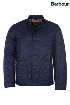 Barbour® Navy Broland Quilt Jacket