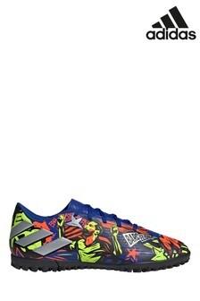 adidas Blue Messi Nemeziz P4 Turf Football Boots